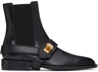 Givenchy Black Eden Chelsea Boots