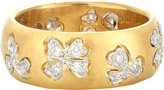Cathy Waterman Women's Floating Lights Wildflower Ring