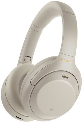 Sony WH-1000XM4 Wireless Noise Cancelling Headphones Silver