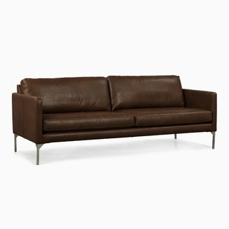 west elm Banks Leather Sofa