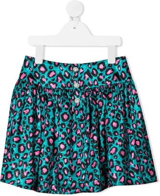 The Marc Jacobs Kids Leopard Print Mini Skirt