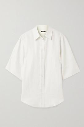 Joseph Starr Linen-blend Shirt - Ivory