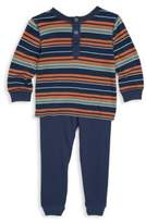 Splendid Baby Boy's Two-Piece Stripe Jersey Sweater & Knitted Pants Set