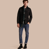 Burberry Lightweight Technical Field Jacket With Removable Warmer
