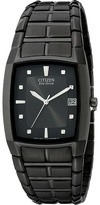 Citizen BM6555-54E Eco-Drive Ion-Plated Stainless Steel Watch