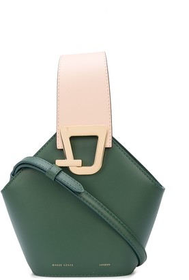 Danse Lente Hinged-Top Bucket Bag