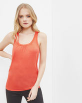 Ted Baker Pleated detail cami top