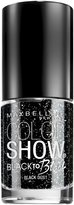 Maybelline Color Show Black Nail Polish - Black Dust - 0.23 oz