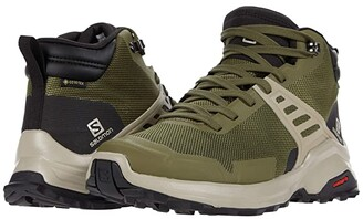 Salomon X Raise Mid GTX(r) (Olive Night/Black/Vintage Kaki) Men's Shoes