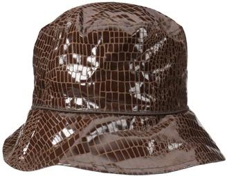 Nine West Women's Reversible Bucket Rain Hat