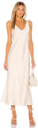 Line & Dot Loulou Satin Dress