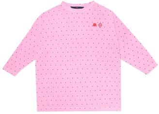The Animals Observatory Pigeon polka-dot cotton dress
