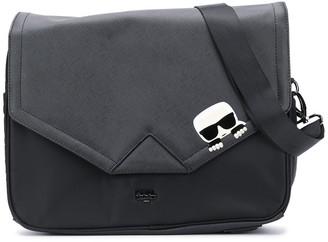 Karl Lagerfeld Paris K/Ikonik logo changing bag set