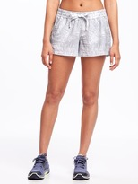 Old Navy Mid-Rise Woven All-Day Performance Shorts for Women