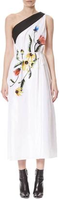 Carolina Herrera Silk Dress