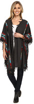 Scully Ezri Cool Spring Evenings Embroidered Wrap