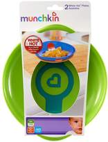 MNCHKN Munchkin White Hot plates (Dispatched From UK)