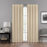Eclipse 1-pack Draftstopper Summit Solid Window Curtain