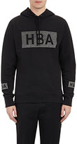 Hood by Air Men's Crystal-Logo French Terry Hoodie-BLACK
