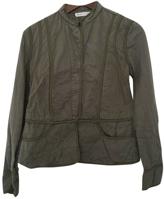 See by Chloe Khaki Cotton Jacket for Women