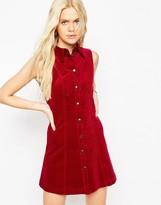 Asos Cord Shirt Dress