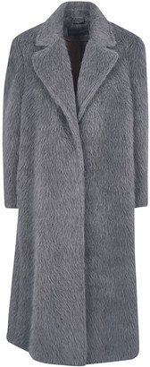 Alberta Ferretti Fur Applique Coat