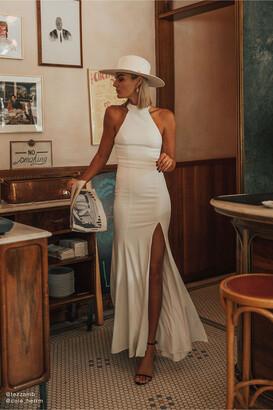 BHLDN Montreal Crepe Maxi Dress