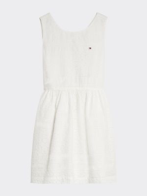 Tommy Hilfiger All-Over Broderie Anglaise Dress