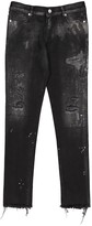 Alyx Grey Cotton Jeans for Women
