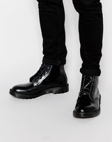 Dr Martens Made In England Arthur Boots - Black