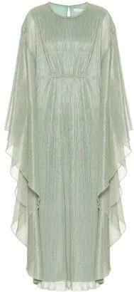 Jonathan Simkhai Farrah plisse lame gown