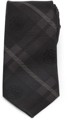 Cufflinks Inc. Game of Thrones Targaryen Dragon Plaid Silk Tie