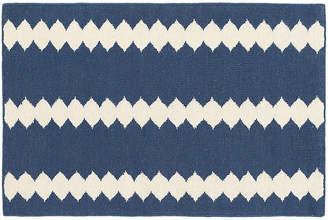 Dash & Albert Bunny Williams For Senna Handwoven Rug - Blue/Ivory - 5'x8'