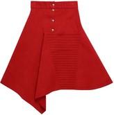 Acephala Asymmetric Button Skirt