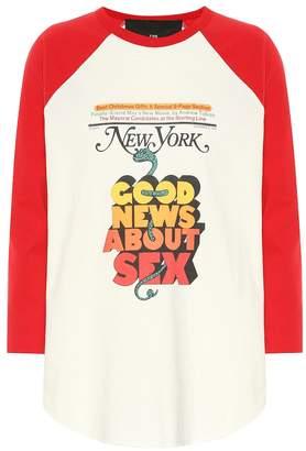Marc Jacobs x New York Magazine The Baseball top