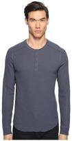 Vince Long Sleeve Henley Men's Long Sleeve Pullover