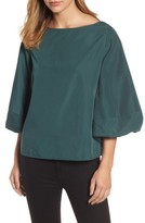 Halogen Women's Blouson Bell Sleeve Top