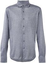 Ermenegildo Zegna button-down long sleeved shirt - men - Cotton - 50
