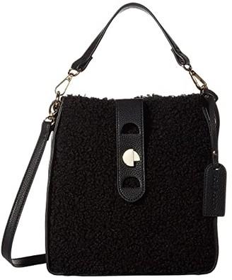 Sole Society SOLE / SOCIETY Delaney Crossbody (Black) Handbags