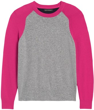 Banana Republic Italian Merino-Blend Raglan Sweater