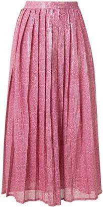 Olivia Rubin Esme dash print skirt