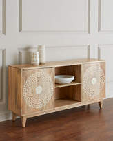 Hooker Furniture Blossom Bone Inlay Entertainment Console