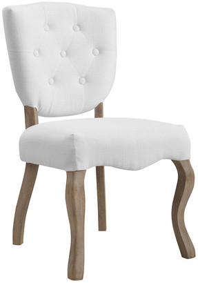 Modway Array Vintage French Upholstered Dining Side Chair