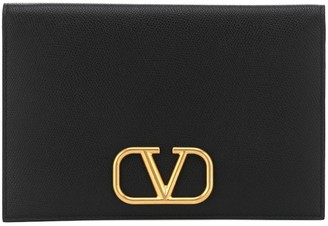 Valentino VLOGO leather pouch