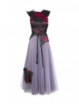 Christopher Kane Tulle dress with Gazar Rose