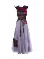 Christopher Kane Tulle dress with Gazar Rose