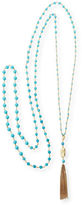 Rosantica Rosarietto Beaded Tassel Necklace
