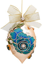Mark Roberts Vintage Blue Floral Jewel Ornament