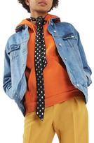 Topshop Women's Oversize Denim Jacket