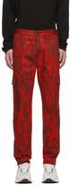 HUGO Red Camo Feeven Cargo Trousers